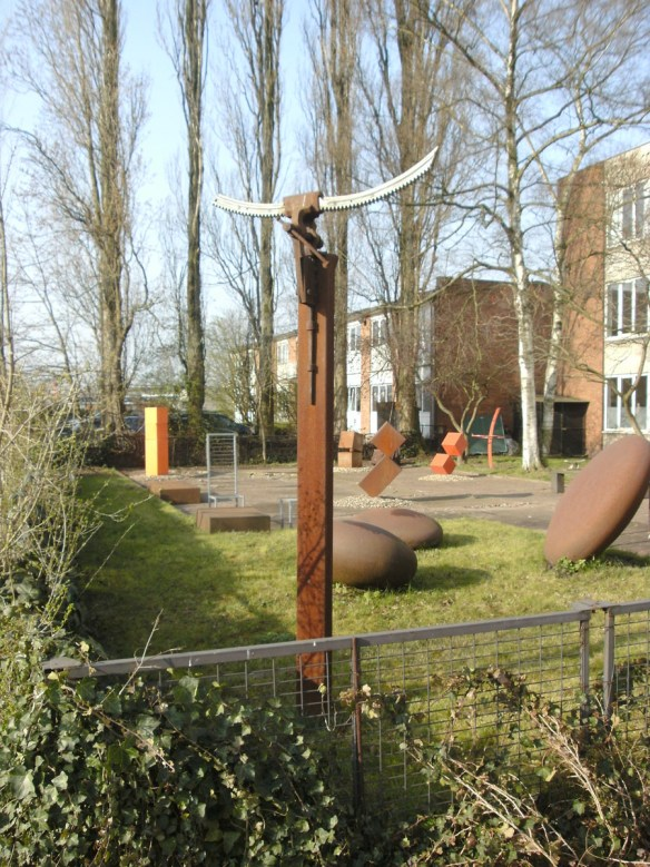 Skulpturenplatz Düsseldorf-Rath