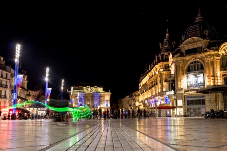 La Place de la Comédie in Montpellier