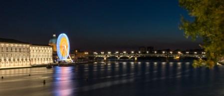 Der Fluss Garonne in Toulouse