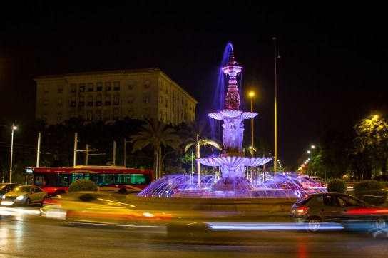 Plaza Don Juan De Austria in Sevilla