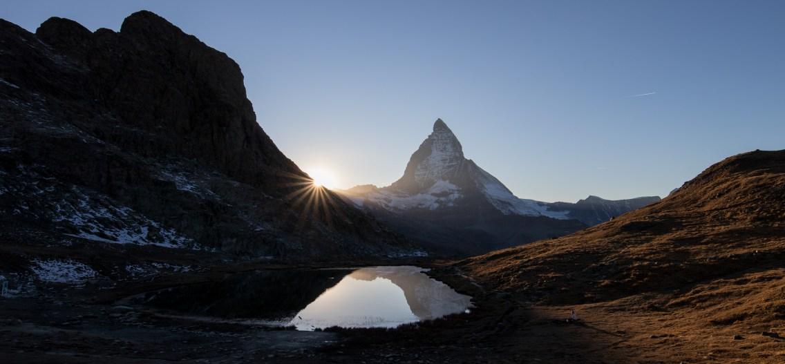 Riffelsee und Matterhorn