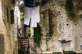 In der Altstadt von Split