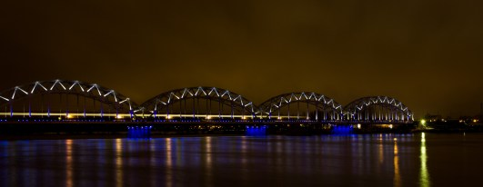 Die Zugbrücke in Riga