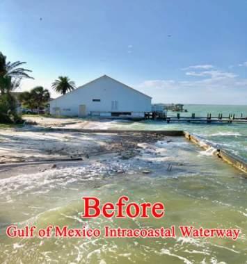 Gulf of Mexico Before Sandsaver Installation