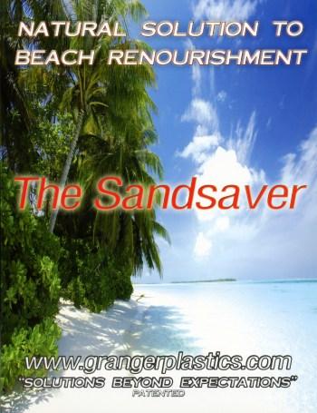 Sandsaver Beach Erosion Solution Information, Beach Dredging Alternative