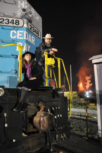 Sands & Hearn Press Photo