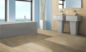 Sandstone for baths and wellness areas also for the floor covering