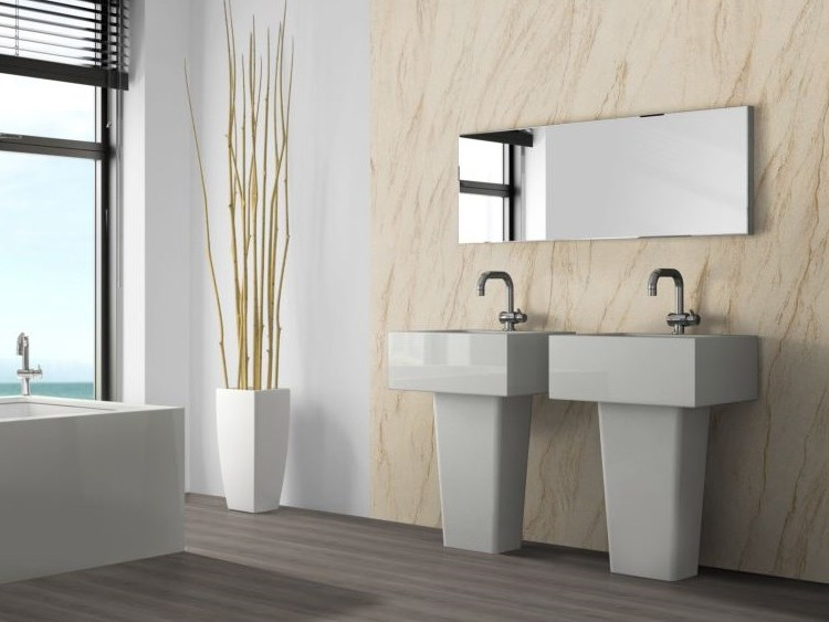 Yellow Peak flexible sandstone wellness bathroom
