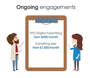 attract rates for ongoing engagement