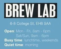 Edinburgh's Best Work-Friendly Cafés for Small Businesses: Brew Lab