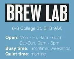 Edinburgh's Best Work-Friendly Cafés for Small Businesses: Brew Lab