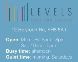 Edinburgh's Best Work-Friendly Cafés for Small Businesses: Levels Cafe & Lounge