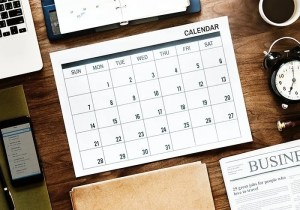 monthly calendar to better banalise work and life