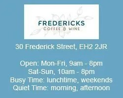 fredericks coffee house work remotely edinburgh