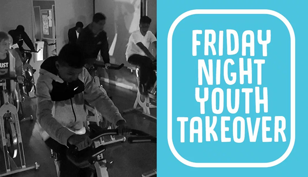 Friday night youth takeover