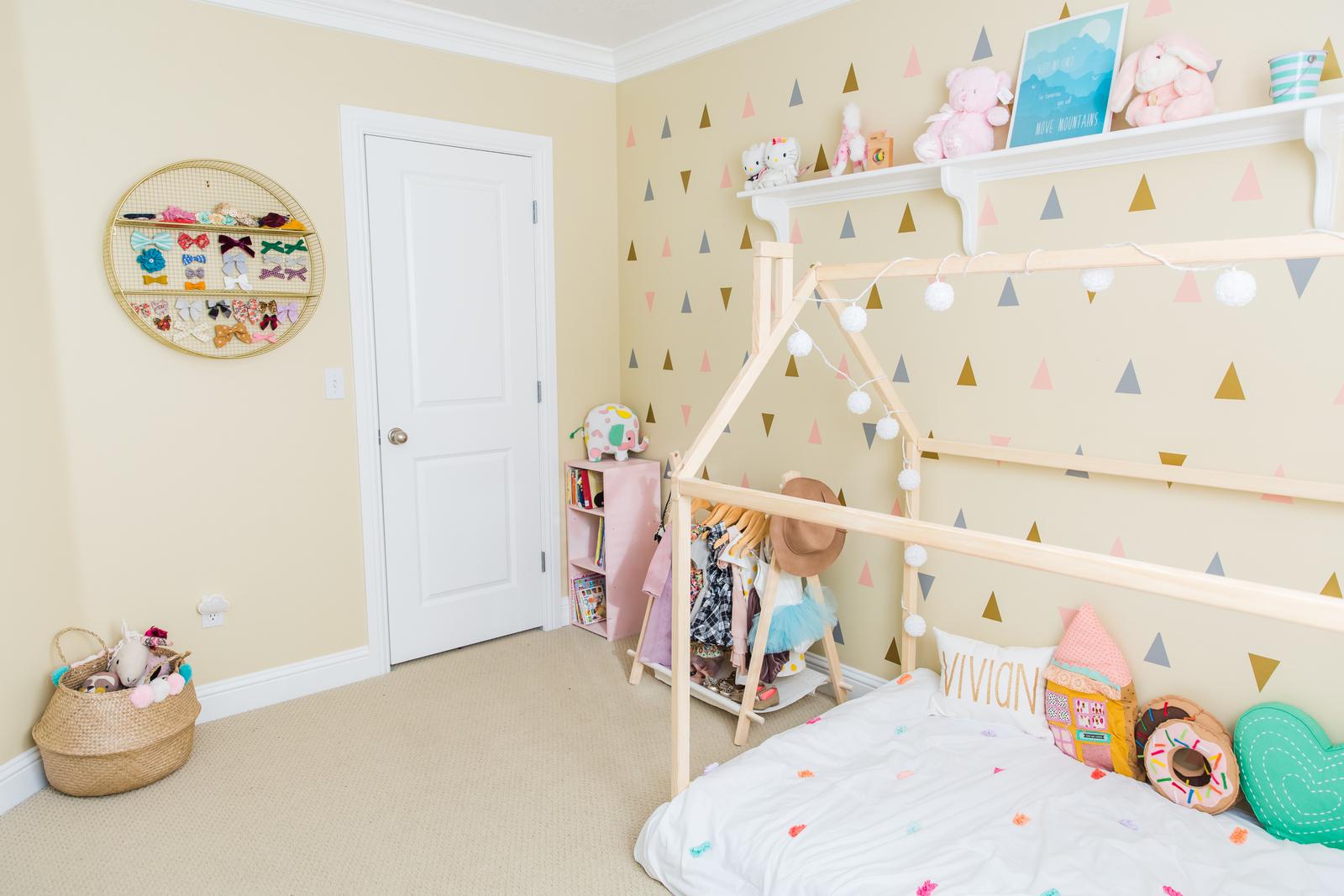 Little Girls Bedroom Ideas Vivian S Bedroom Reveal Sandy A La Mode