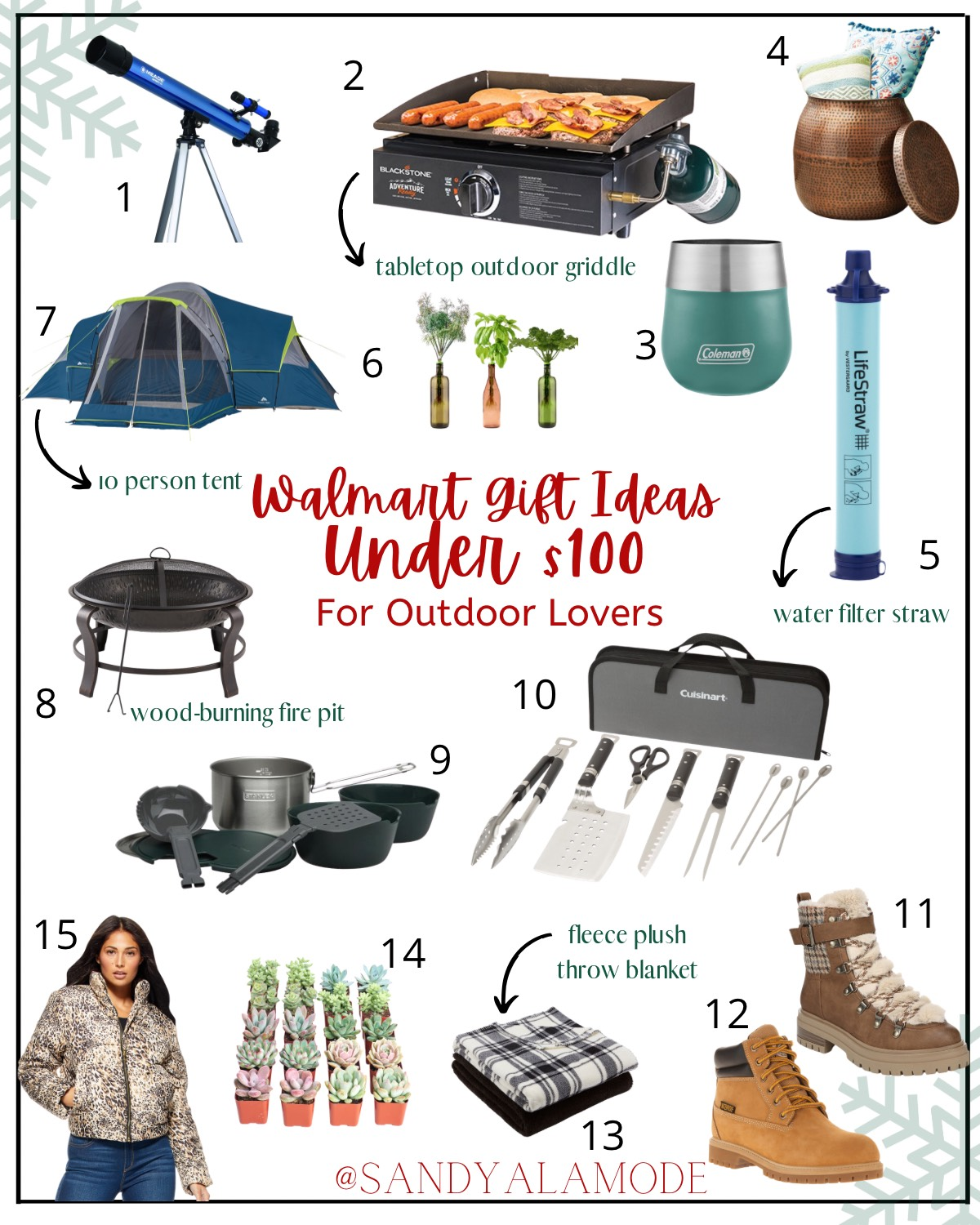 gift ideas under 100 for outdoor