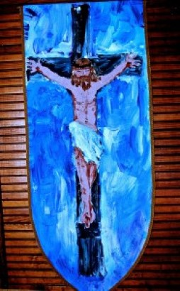 Eleventh Station, Jesus is nailed to the Cross