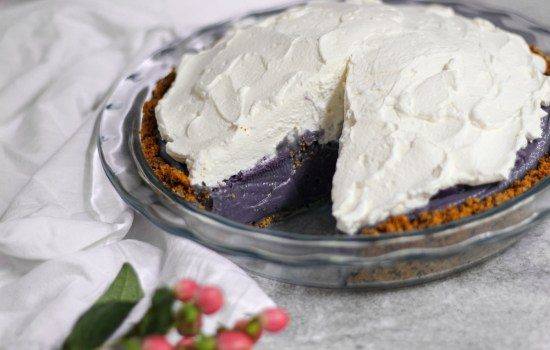 Ube Cream Pie