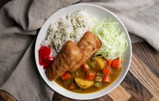 Fish Katsu Curry