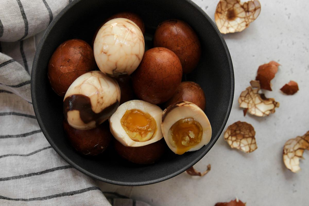 Earl Grey Tea Eggs