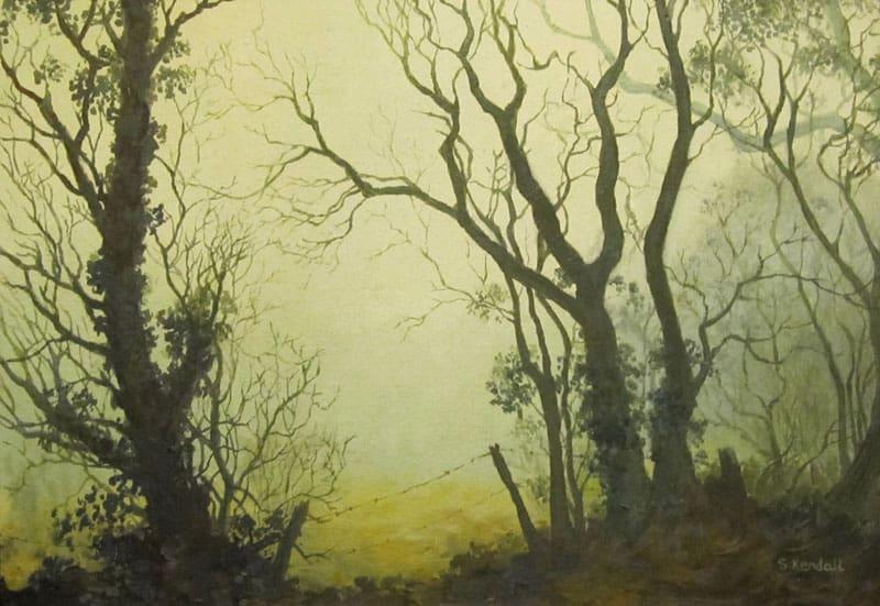 Foggy Welsh Morning Image