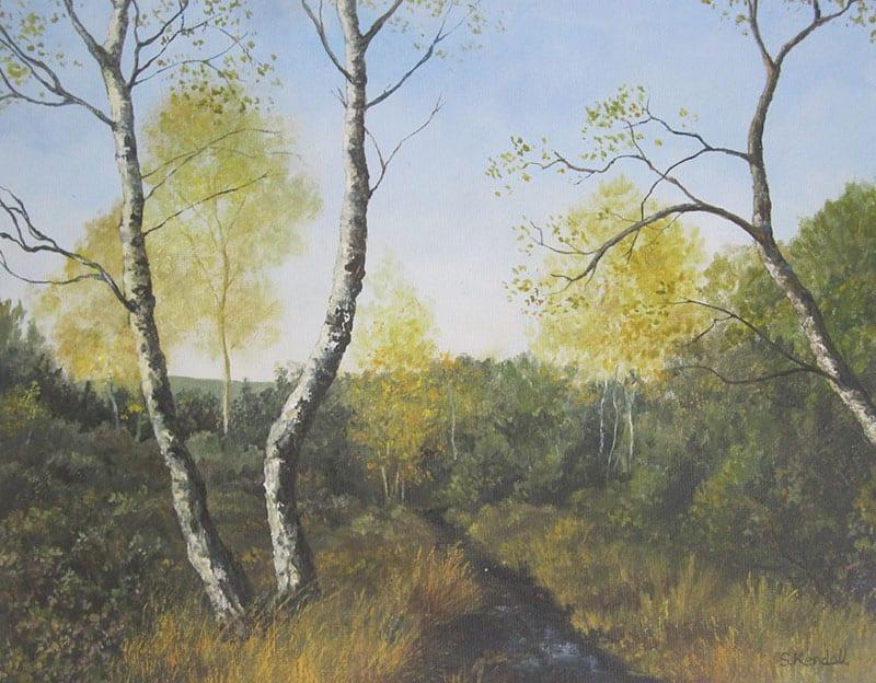Whitmore Common, Surrey 2 (2 trees) Image