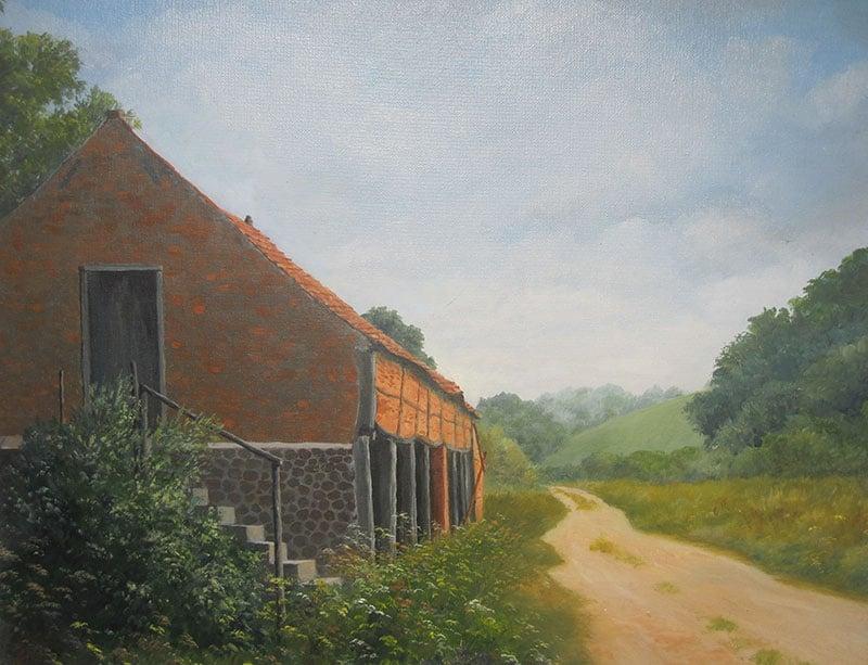 Old Barn, Norfolk Image