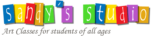 Sandy's Studio: art classes in surrey for students of all ages (logo)