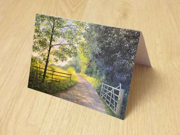 photo of greetings card