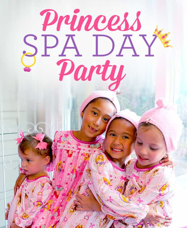 Princess Spa Day Party Popsicle Blog