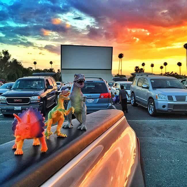 Family Fun At The Drive In Movie Theater Popsicle Blog