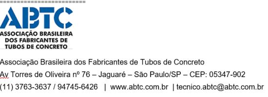 Atualização das Normas Técnicas Brasileiras de Tubos e Poços de Visita em concreto 1