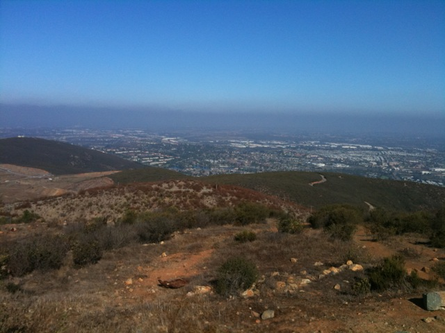 View from top-TJ to Catalina