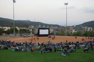 Movie in San Elijo Hills Park