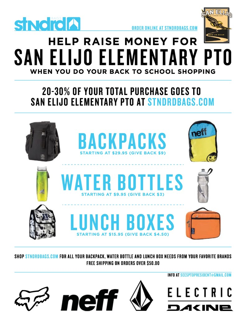 Standard Bags San Elijo Elementary