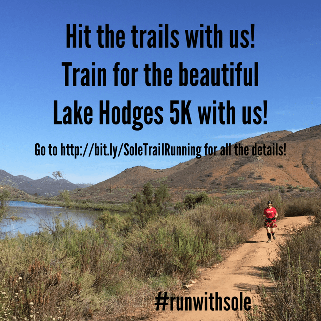 Join our next trail running program right here in San Elijo Hills!