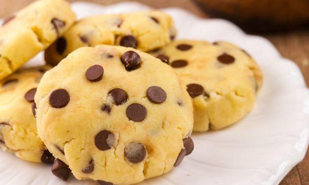 No-bake Chocolate Chip Cookies
