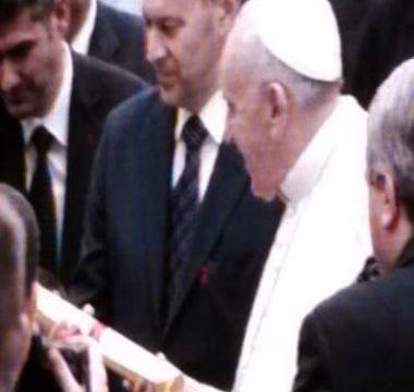 consegna per Papa Francesco