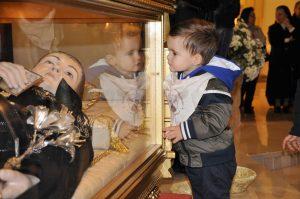 San Gabriele bambino