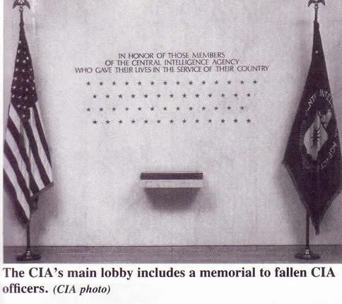 CIA operatives killed - 53 stars 1992 book