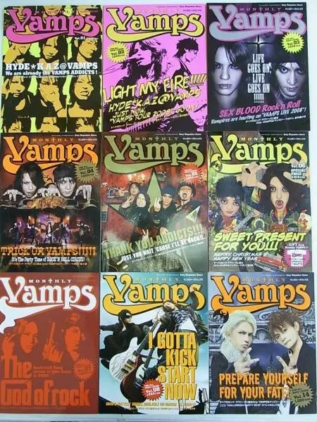 MONTHLY VAMPS