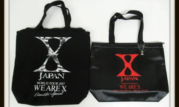 X JAPAN バッグ WORLD TOUR 2017 WE ARE X1