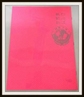 沢田研二 BAD TUNING 熱烈歓迎 パンフレット 2