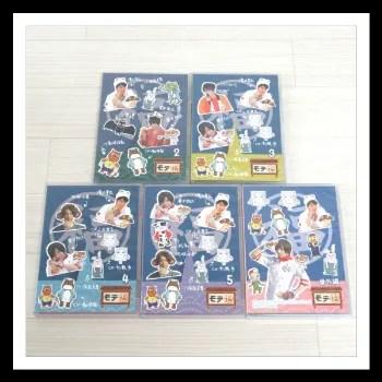 DVD モテ福 5本 2~5巻+番外編