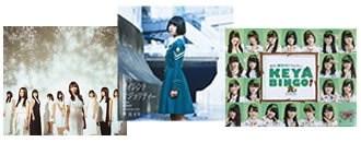 欅坂46DVDが並んだ画像