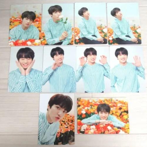 BTS ジョングク ミニフォトカード トレカ LOVE YOURSELF 10枚セット