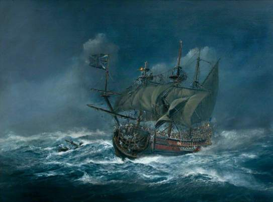 Hamilton, John Alan; Sinking of the 'Association' in 1707; Isles of Scilly Museum; http://www.artuk.org/artworks/sinking-of-the-association-in-1707-14209
