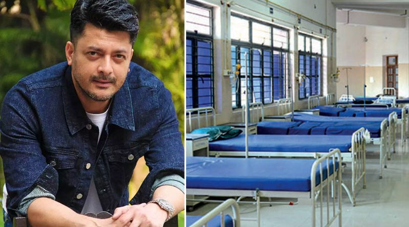 Actor Jisshu Sengupta arranges a same home for covid positive patients   Sangbad Pratidin