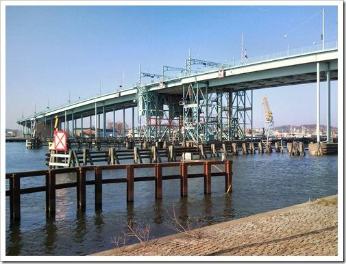 Bro över Göta Älv i Göteborg
